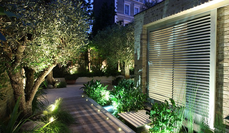 Градинско фасадно осветление...
